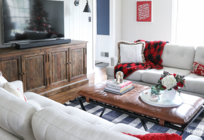 New Furniture for My Family Room #rustic #modern #furniture #lvingroom #familyroom #sofa #christmas