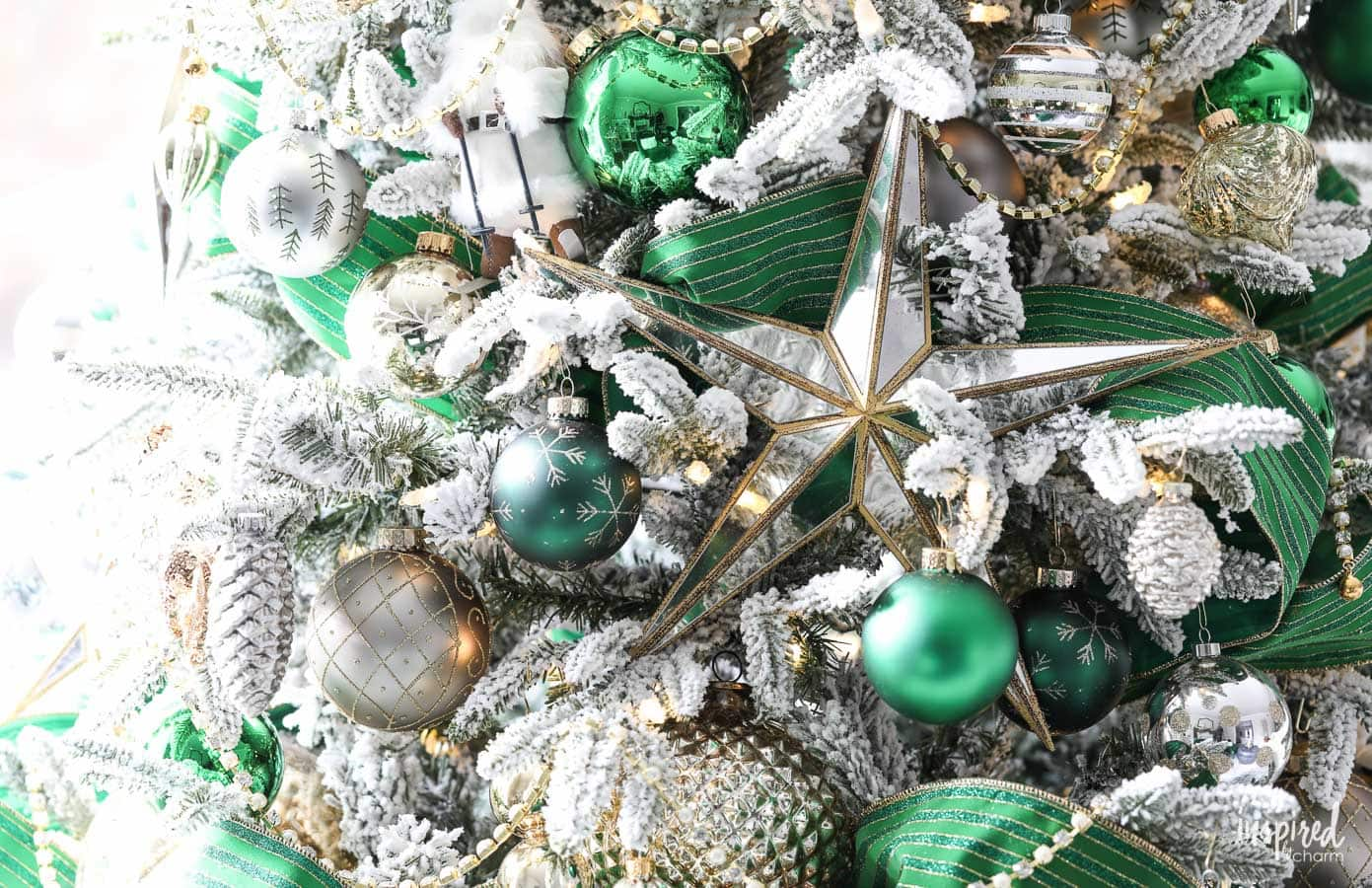 A Christmas Tree Fit for the Emerald City - Emerald Green Christmas Tree # christmas #