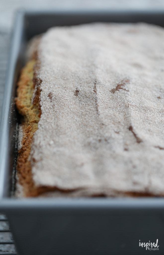 Trader Joe's Pancake Bread Recipe #pancake #bread #quickbread #cinnamon #maple #recipe #traderjoes