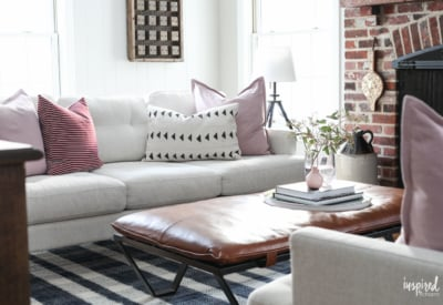 Living Room Decor Ideas for Spring #spring #livingroom #decor #decorating #ideas
