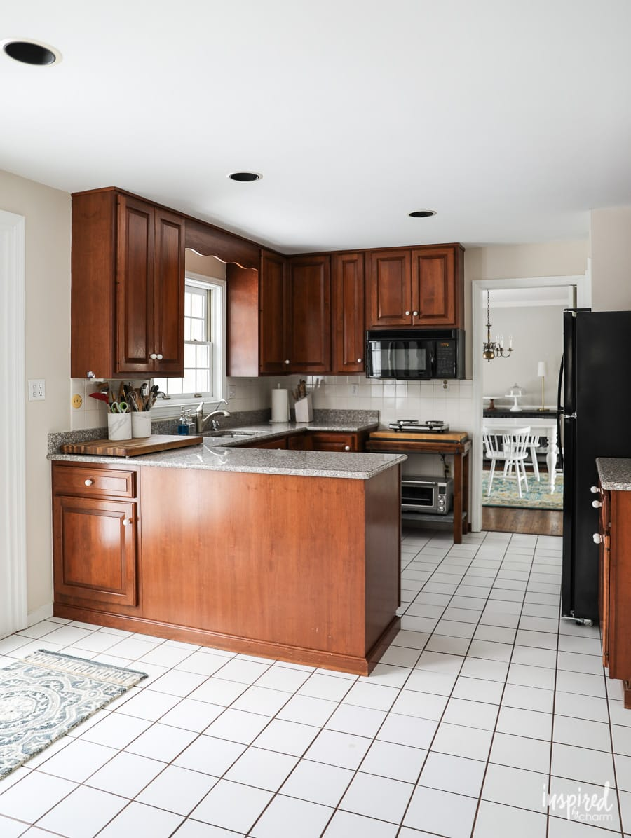 Kitchen Remodel The Before Kitchen Renovation From Start