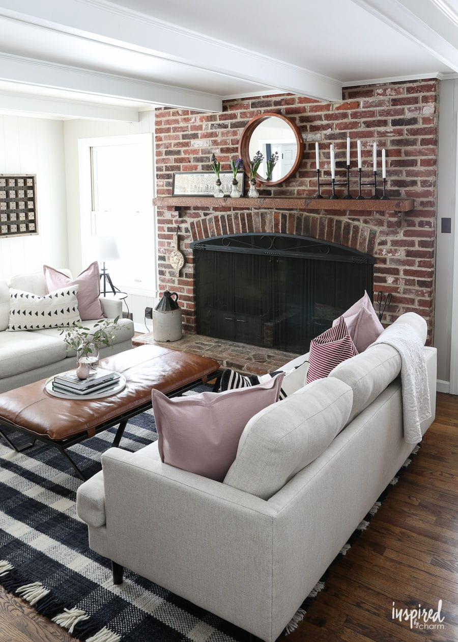 Beautiful and Casual Living Room Decor Ideas for Spring