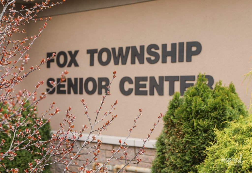 Before and After Senior Center Makeover