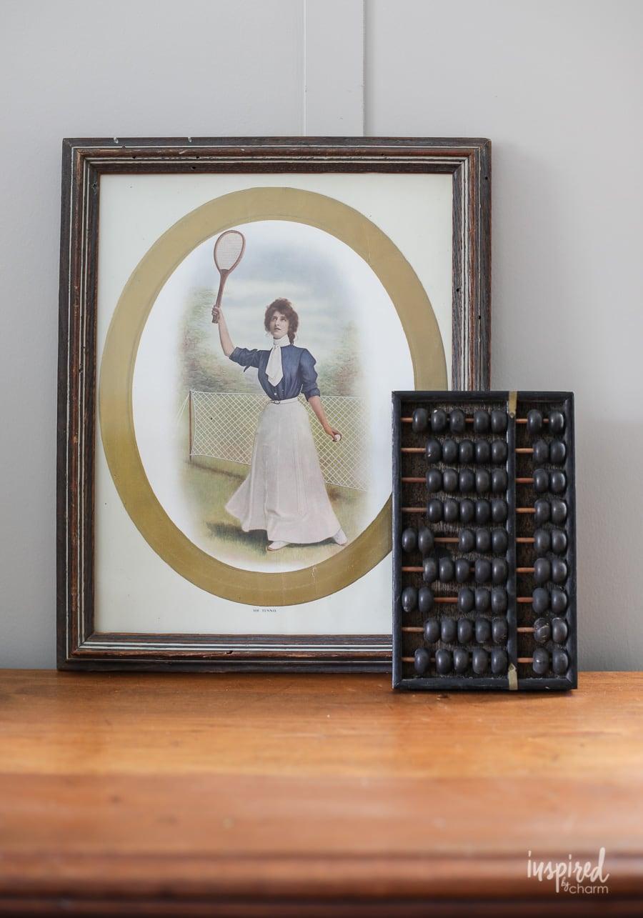 Decorative Arts 7 Vintage Antique Art Deco Cardboard Picture Frames Agreeable Sweetness