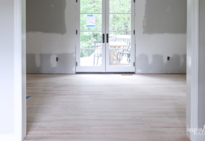Bayberry Kitchen Update: Drywall and Hardwood #remodel #kitchen #hardwoodfloors #drywall