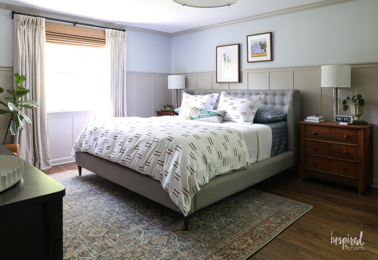 Master Bedroom Makeover Reveal: Decorating Ideas