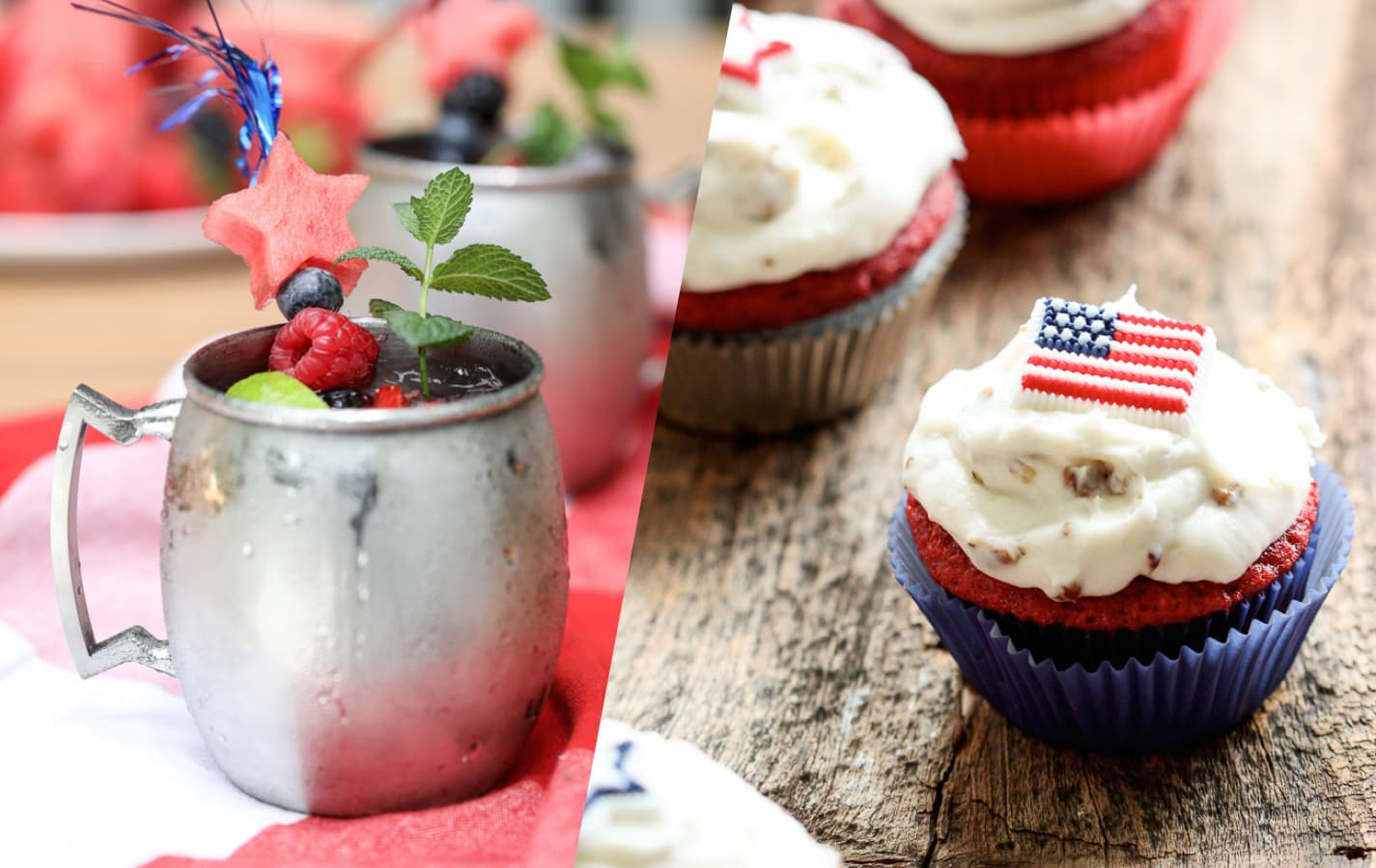 The Best 4th of July Recipes #4thofJuly #recipes #independence #day #dessert #picnic #cookout