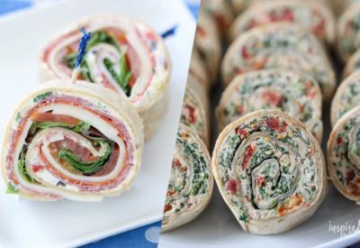 My Favorite Pinwheel Recipes #appetizer #pinwheels #rollups #recipe