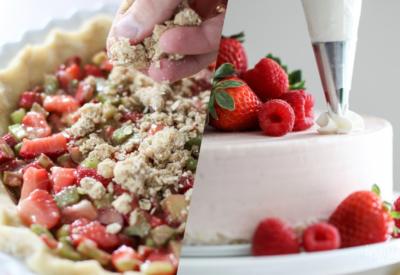 The Best Strawberry Desserts for Summer #summer #dessert #strawberry #cake #pie #recipe