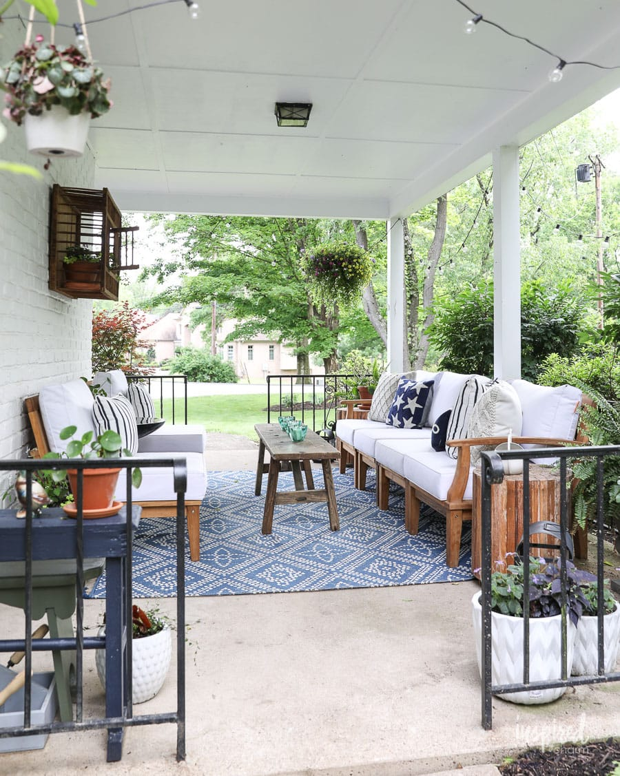 Summer Decorating: Porch and Patio Ideas + VIDEO for Stylish ...