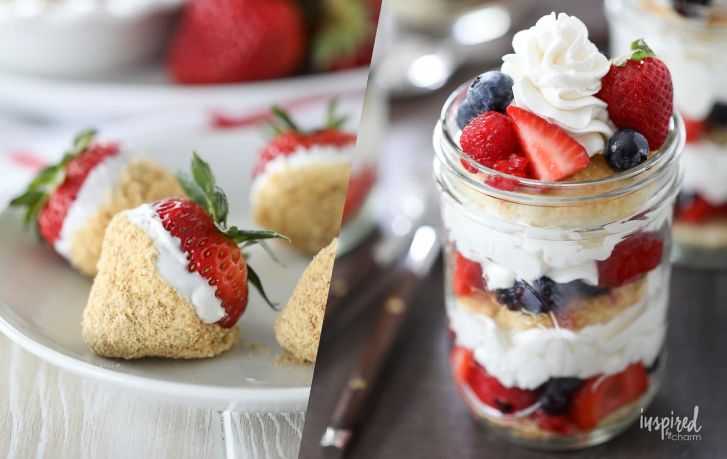 The Best 4th of July Dessert Recipes #4thofJuly #dessert #recipes #independenceday #picnic #cookout #summer