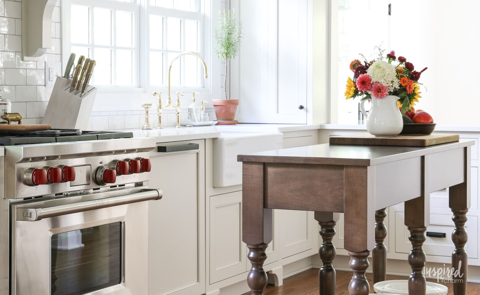 Bayberry Kitchen Remodel Reveal - Inspired by Charm Kitchen