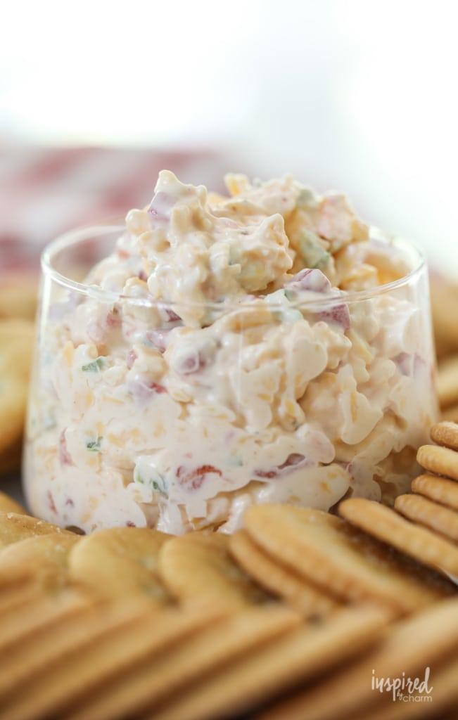 My recipe for Really Good Pimento Cheese! #pimento #cheese #recipe #dip #spread #appetizer