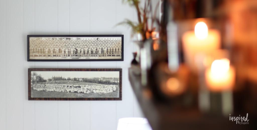 Vintage Modern Fall Living Room Decor Ideas #fall #decorating #decor #ideas #livingroom #vintage #modern
