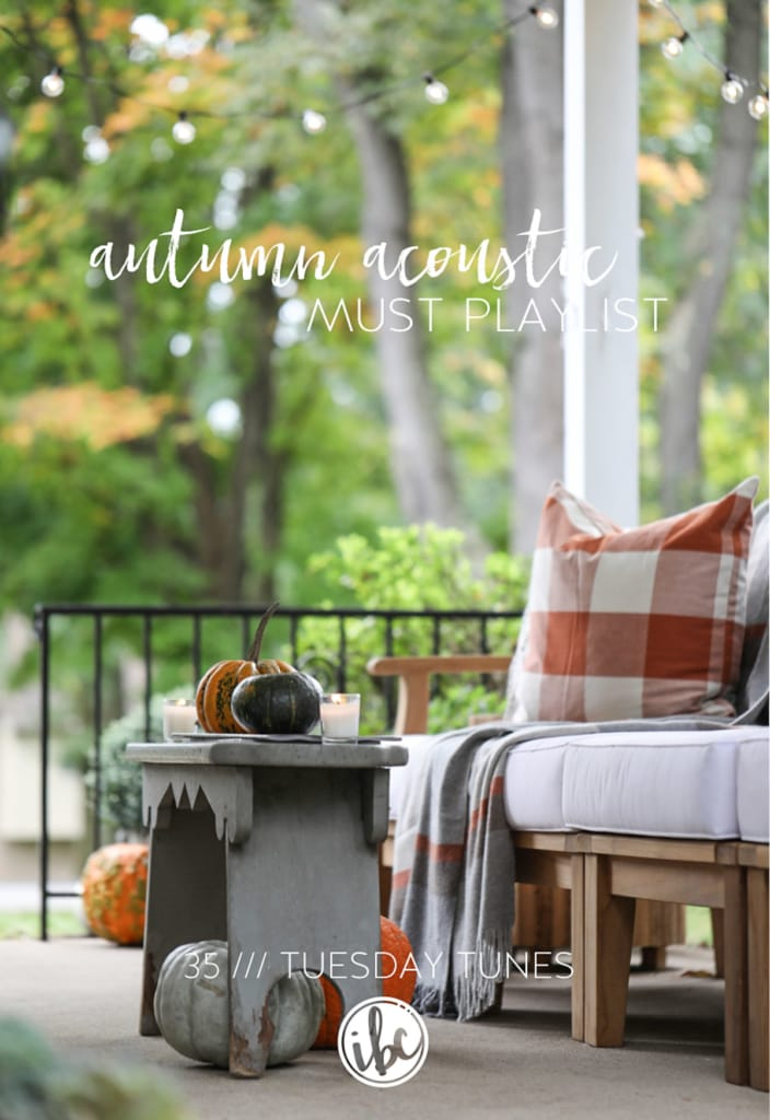 Autumn Acoustic Music Playlist for Fall #music #playlist #fall #autumn #acoustic #folk #tunes