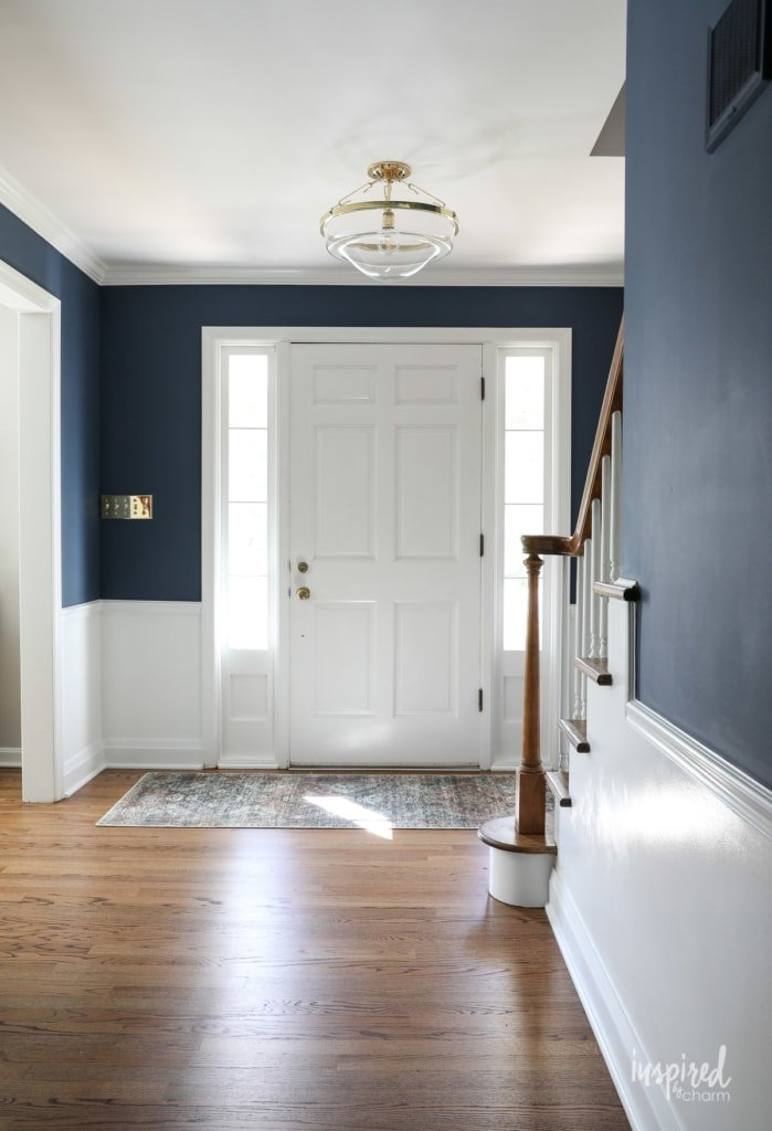 Entryway After Renovation - Entryway Ideas #entryway #foyer #decor #decorating #style #renovation