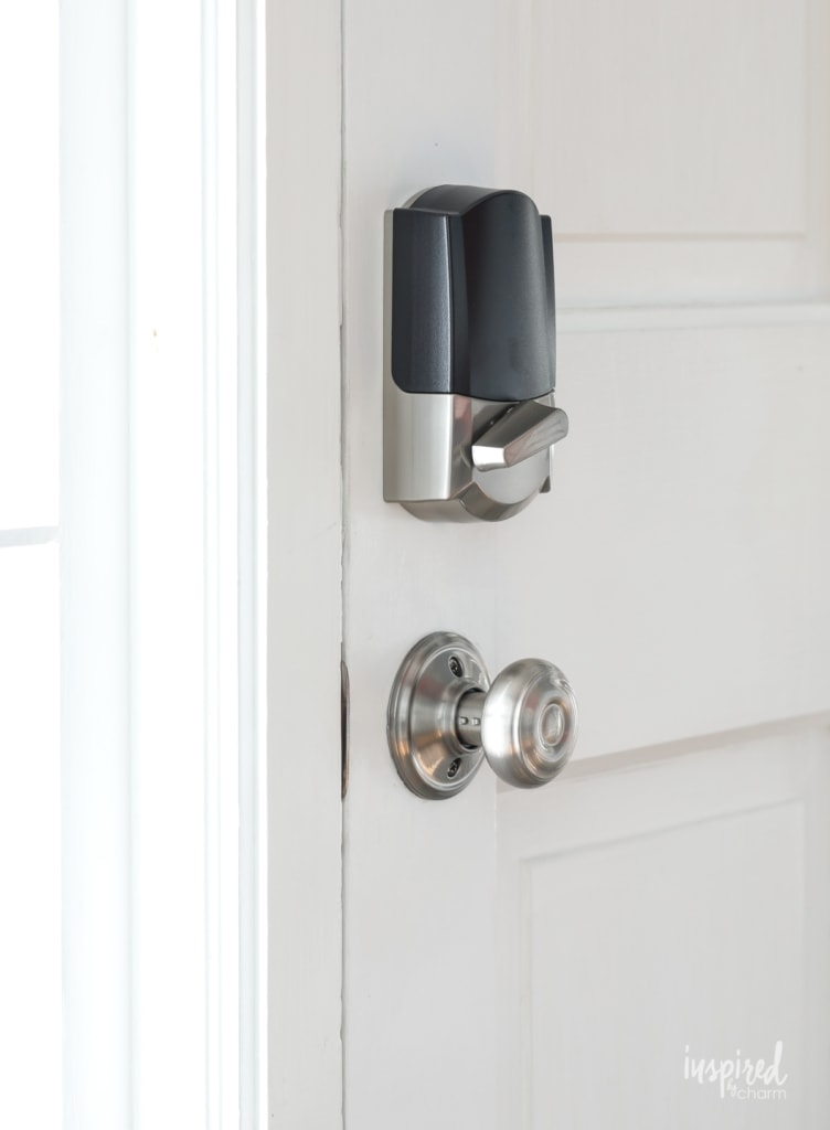 A Smart Upgrade for my Front Door #smarthome #schlage #encode #smartlock #frontdoor