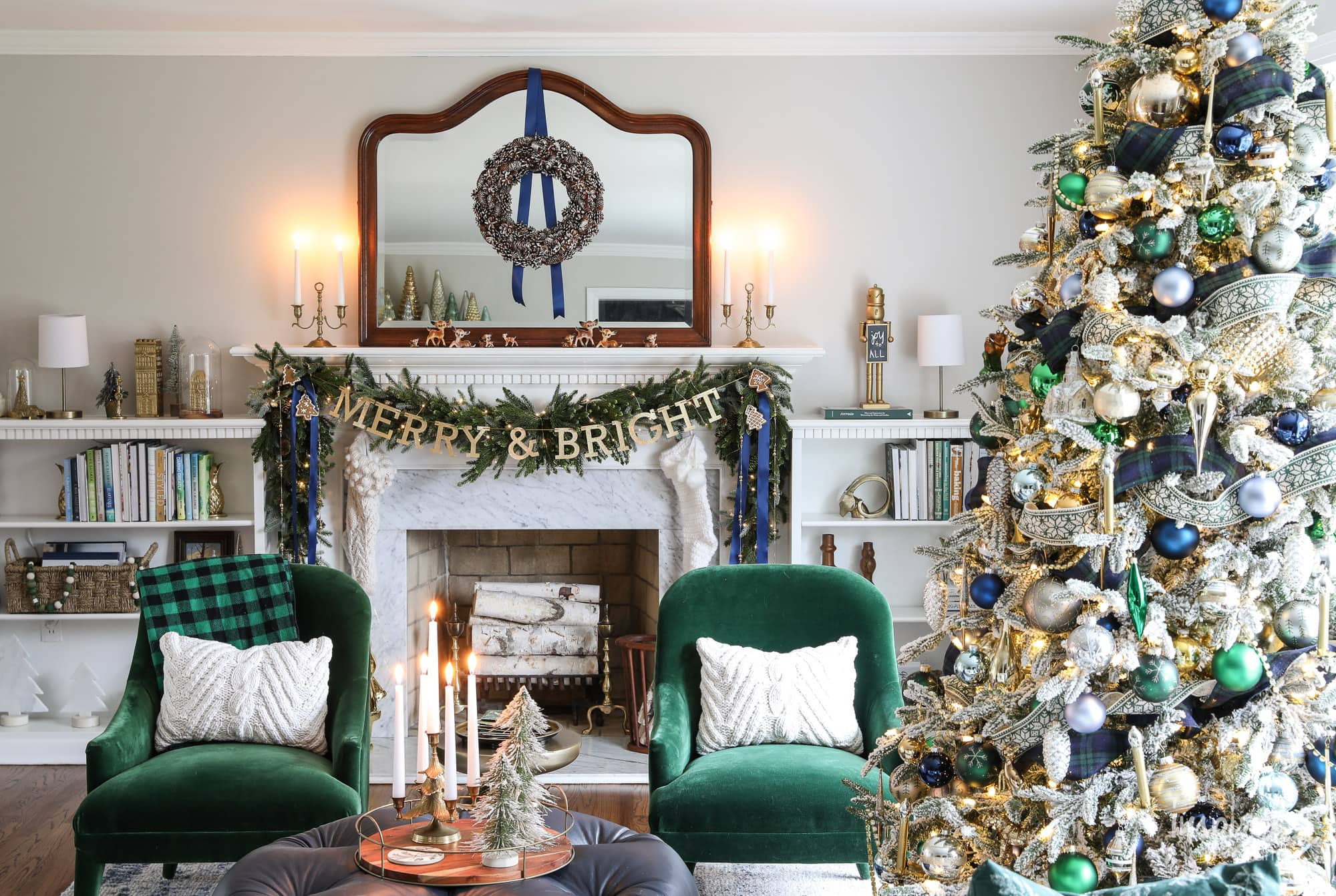 Living Room Christmas Decor Ideas And Inspiration