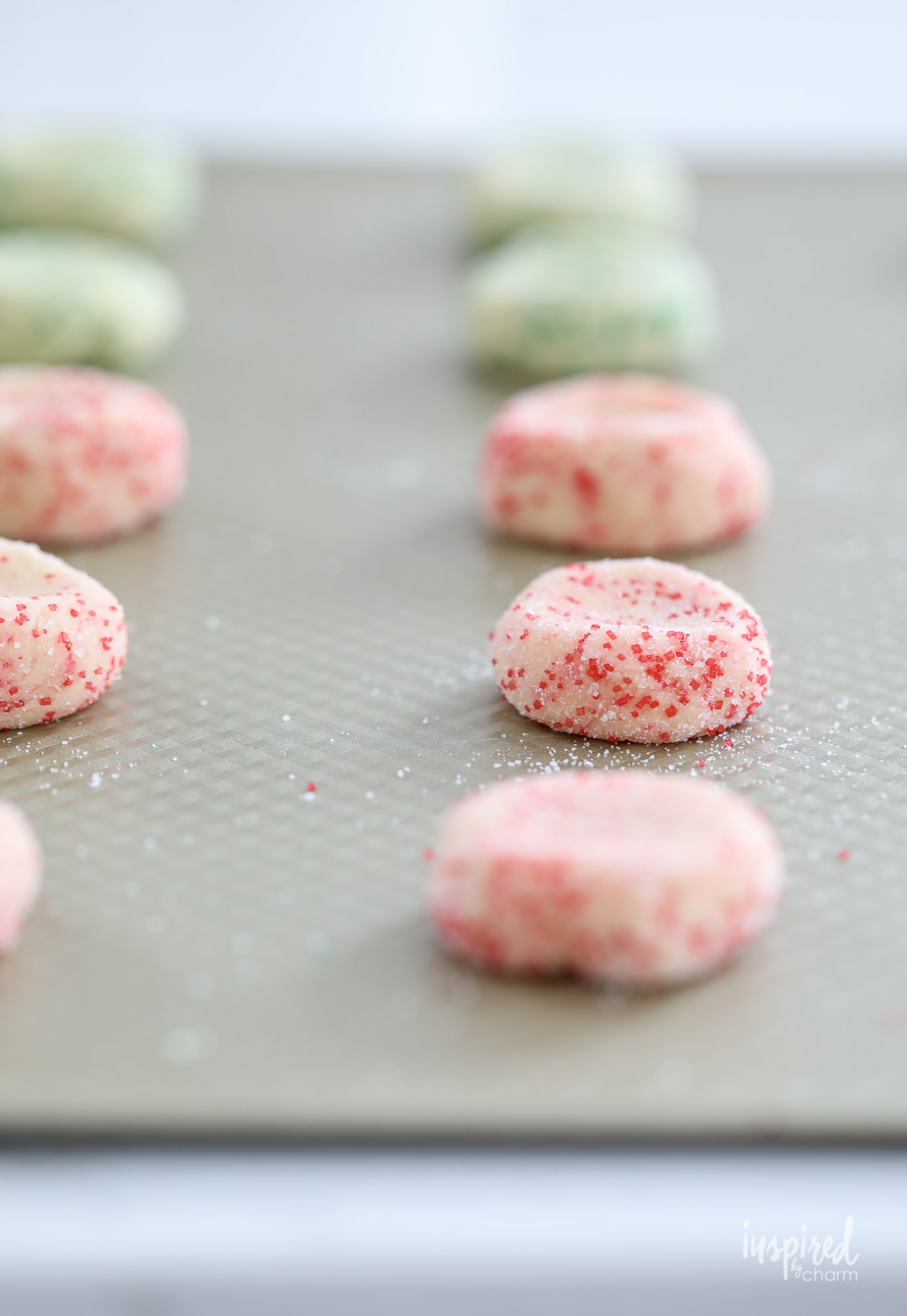 Peppermint Kiss Christmas Cookies #peppermint #blossom #peppermintkiss #christmas #holiday #cookie #recipe