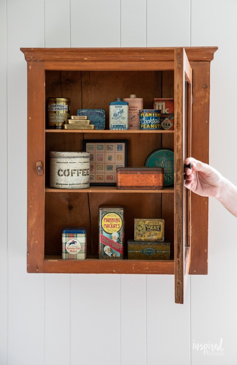 How to Decorate with Antique / Vintage Finds #antique #vintage #vintagefinds #homedecor #decorating